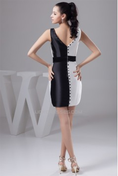 Sleeveless Sheath/Column Silk like Satin Prom/Formal Evening Dresses 02021418
