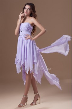 Asymmetrical Beading A-Line Chiffon Prom/Formal Evening Homecoming Dresses 02021447