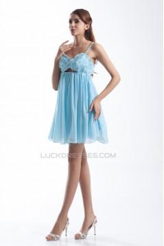 Beading Short/Mini A-Line Sleeveless Chiffon Prom/Formal Evening Cocktail Dresses 02021454