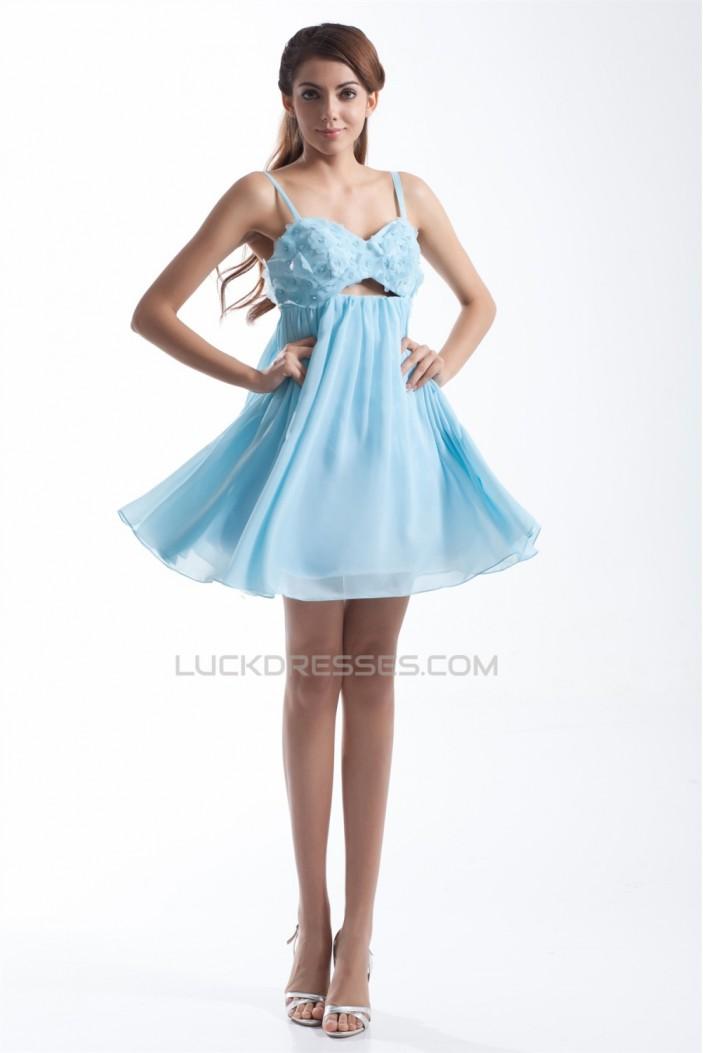 Beading Short/Mini A-Line Sleeveless Chiffon Prom/Formal Evening Cocktail Dresses 02021454