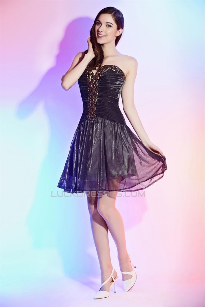 Chiffon Silk like Satin Beading Sleeveless Prom/Formal Evening Dresses 02021465