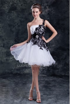 Satin Organza Beading Princess Sleeveless Prom/Formal Evening Dresses 02021490