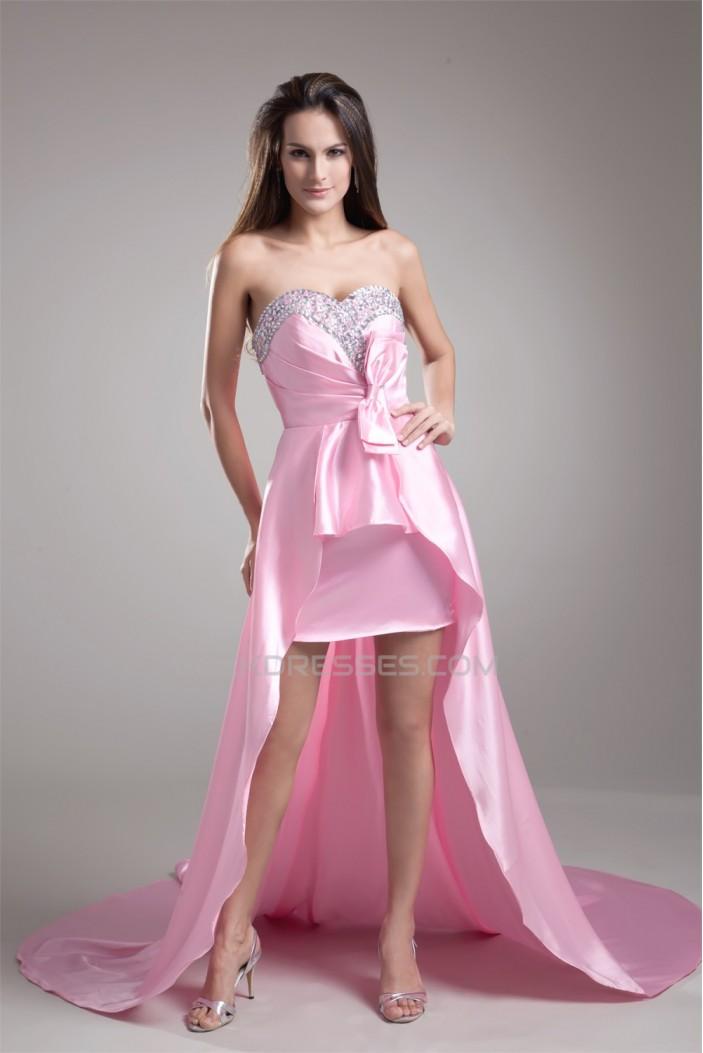 Sleeveless Asymmetrical Beading Sheath/Column Prom/Formal Evening Dresses 02021520