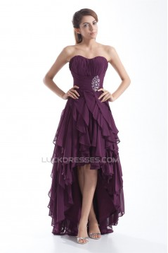 Sleeveless Brush Sweep Train Beading Sweetheart Prom/Formal Evening Dresses 02021522