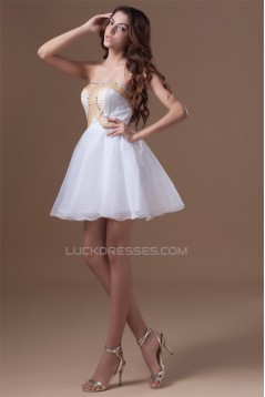 Sleeveless Organza Silk like Satin Sweetheart Prom/Formal Evening Dresses 02021526