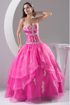 Ball Gown Floor-Length Sweetheart Beading Prom/Formal Evening Dresses 02020178