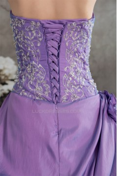 Ball Gown Floor-Length Strapless Prom/Formal Evening Dresses 02020197