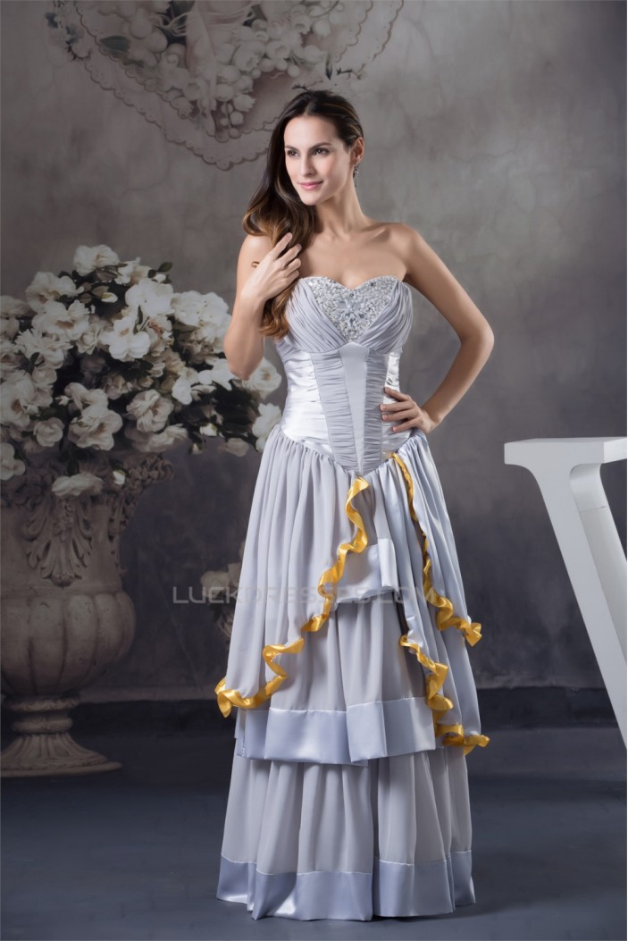 Floor-Length Sweetheart Ball Gown Pleats Prom/Formal Evening Dresses 02020201