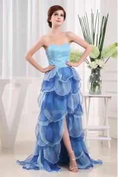 Organza Silk like Satin Beading Sweetheart Prom/Formal Evening Dresses 02020239