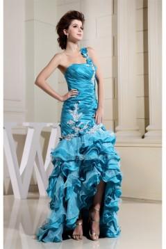 Trumpet/Mermaid Ruffles One-Shoulder Prom/Formal Evening Dresses 02020257