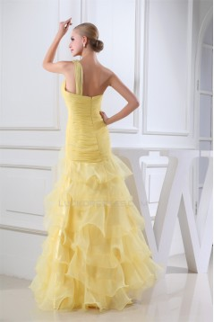 Trumpet/Mermaid Floor-Length Prom/Formal Evening Dresses 02020299