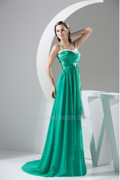 A-Line Beading Applique Long Prom/Formal Evening Dresses 02020323
