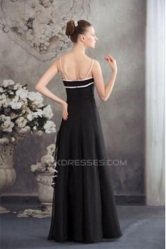 A-Line Floor-Length Spaghetti Straps Prom/Formal Evening Bridesmaid Dresses 02020324