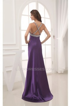 Beading Brush Sweep Train Prom/Formal Evening Dresses 02020336