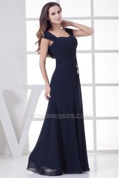 Sheath/Column Chiffon Long Prom/Formal Evening Mother of The Bride Dresses 02020354