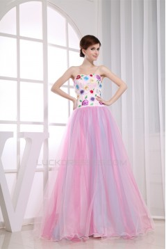 A-Line Sleeveless Floor-Length Embroidery Sweetheart Prom/Formal Evening Dresses 02020360