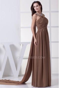 Sheath/Column Sleeveless Floor-Length Beading Prom/Formal Evening Dresses 02020366