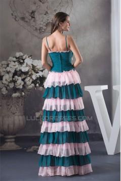 Spaghetti Straps Floor-Length Sleeveless Prom/Formal Evening Dresses 02020395