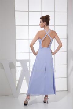 A-Line V-Neck Chiffon Prom/Formal Evening Bridesmaid Dresses 02020406