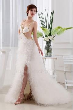 A-Line Straps Floor-Length Prom/Formal Evening Dresses 02020419