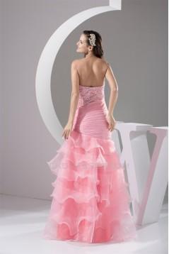 Trumpet/Mermaid Sweetheart Floor-Length Beading Prom/Formal Evening Dresses 02020432