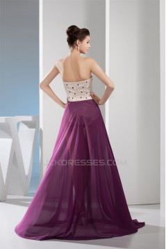 Sweetheart Sleeveless Chiffon Prom/Formal Evening Dresses 02020439