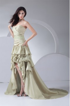 A-Line Sweetheart Taffeta Sleeveless Beading Prom/Formal Evening Dresses 02020441