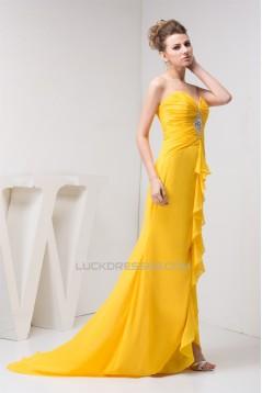 Trumpet/Mermaid Sweetheart Chiffon Prom/Formal Evening Dresses 02020461