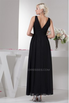 Ankle-Length A-Line Chiffon Prom/Formal Evening Bridesmaid Dresses 02020466