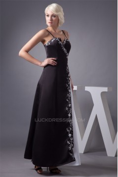 Ankle-Length A-Line Sweetheart Beading Sleeveless Prom/Formal Evening Bridesmaid Dresses 02020467
