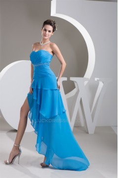 Asymmetrical Sweetheart Sleeveless Beading Prom/Formal Evening Dresses 02020469