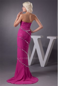Beading Sheath/Column Sweetheart Sleeveless Prom/Formal Evening Dresses 02020486