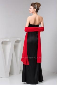 Beading Silk like Satin Sweetheart Sleeveless Prom/Formal Evening Dresses 02020487