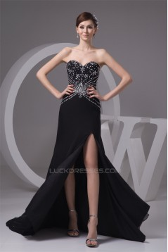 Brush Sweep Train Beading Sleeveless Sweetheart Prom/Formal Evening Dresses 02020491