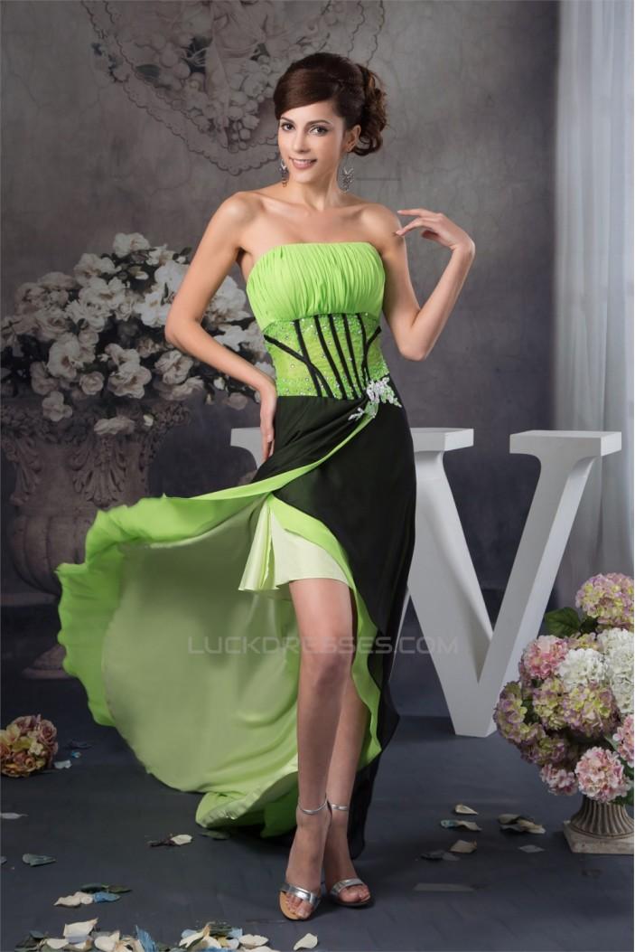 A-Line Chiffon Beading Sleeveless Prom/Formal Evening Dresses 02020504