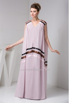 Chiffon V-Neck Sleeveless Prom/Formal Evening Maternity Dresses 02020509
