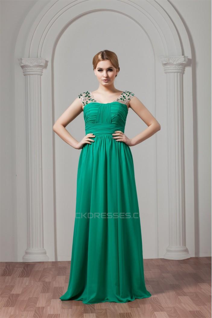 Floor-Length Chiffon Plus Size Prom/Formal Evening Dresses 02020517