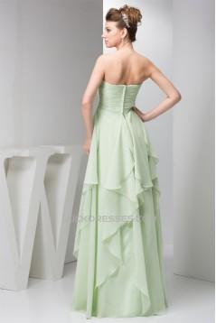 Floor-Length Pleats Sheath/Column Sleeveless Prom/Formal Evening Dresses 02020522