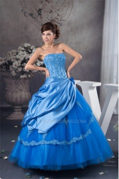 Ball Gown Floor-Length Prom/Formal Evening Dresses 02020550