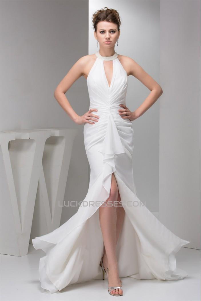 Trumpet/Mermaid Chiffon Pleats Prom/Formal Evening Dresses 02020558