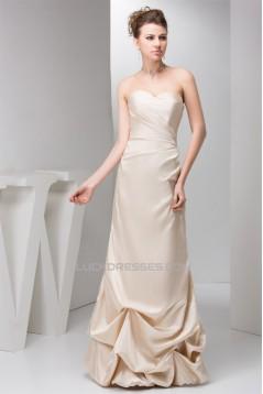 Sheath/Column Ruffles Floor-Length Sleeveless Prom/Formal Evening Dresses 02020562