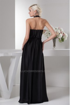 Sleeveless A-Line Satin Silk like Satin Prom/Formal Evening Dresses 02020572