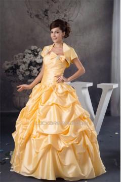 Sleeveless Strapless Floor-Length Satin Taffeta Prom/Formal Evening Dresses 02020592