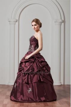 Sweetheart Ball Gown Beading Floor-Length Prom/Formal Evening Dresses 02020596