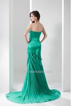 V-Neck Beading Mermaid/Trumpet Chiffon Prom/Formal Evening Dresses 02020603