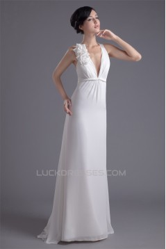 A-Line Chiffon Sleeveless Prom/Formal Evening Bridesmaid Dresses 02020616