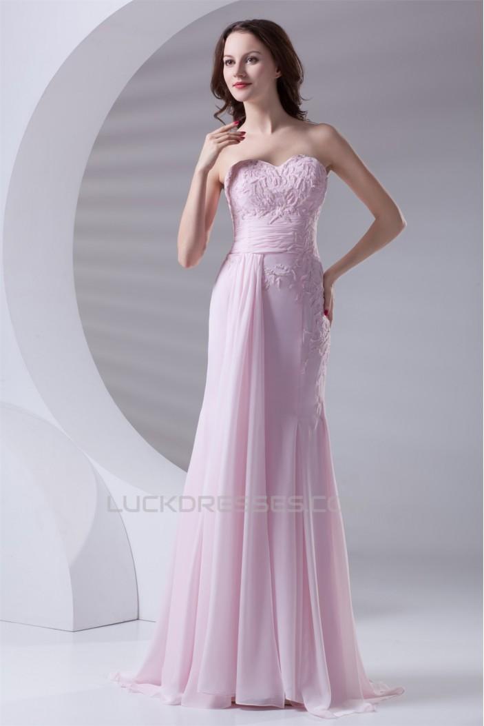 Trumpet/Mermaid Chiffon Elastic Woven Satin Prom/Formal Evening Dresses 02020628