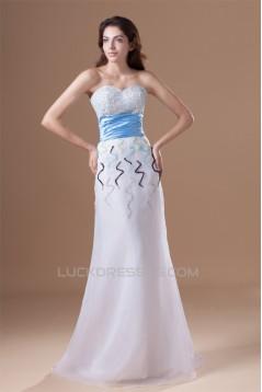 A-Line Sweetheart Satin Organza Sleeveless Prom/Formal Evening Dresses 02020637