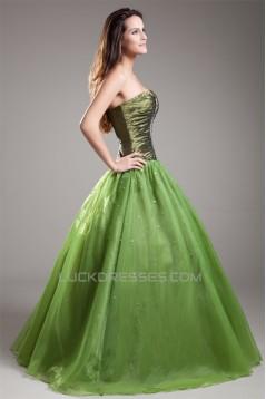Ball Gown Sleeveless Sweetheart Beading Prom/Formal Evening Dresses 02020651