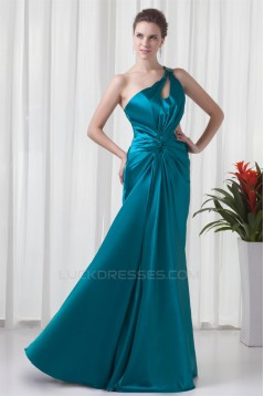 Beading Elastic Woven Satin Sleeveless Sheath/Column Prom/Formal Evening Dresses 02020658